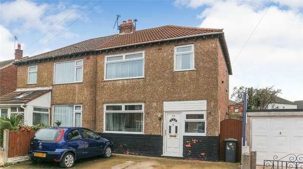 3 Bedrooms Semi Detached House for sale in Wyncroft Road, Widnes, Cheshire