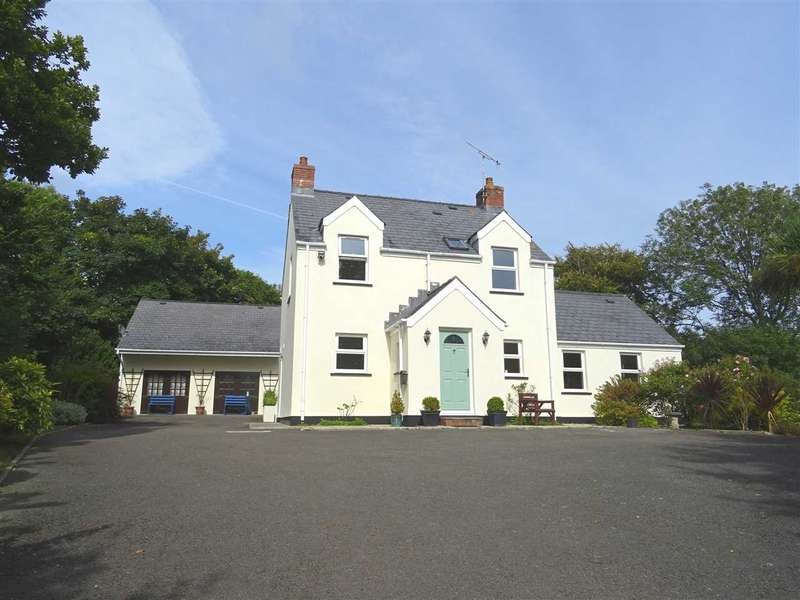 5 Bedrooms Detached House for sale in Newtons Well, Summerhill Lane, Manorbier Newton, Tenby