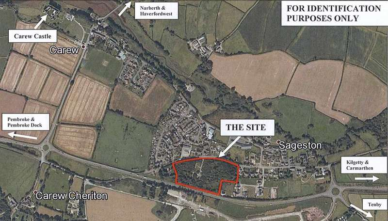 Land Commercial for sale in Residential Development Site, Sageston, Sageston