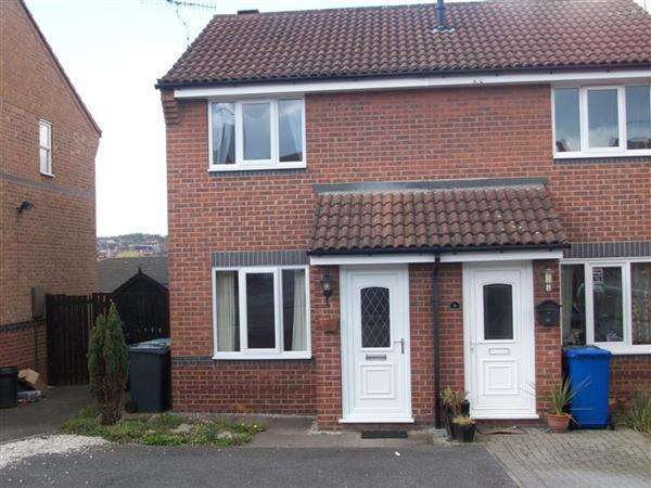 2 Bedrooms Semi Detached House for rent in Swalebank Close, Chesterfield