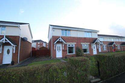 3 Bedrooms Semi Detached House for sale in Cromptons Grove, Paisley