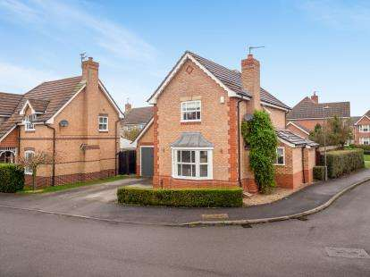 4 Bedrooms Detached House for sale in Gillercomb Close, West Bridgford, Nottingham, Nottinghamshire