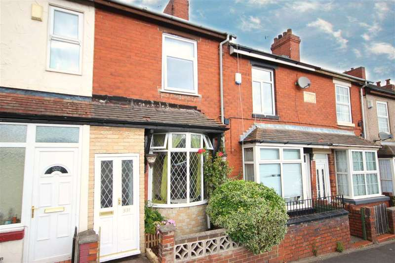 3 Bedrooms Terraced House for sale in Anchor Road, Adderley Green, Stoke-on-Trent