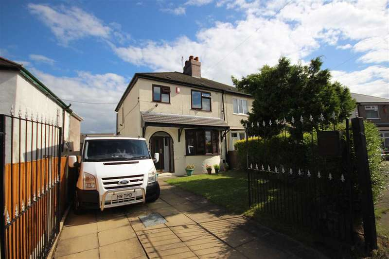 3 Bedrooms Semi Detached House for sale in Burnhays Road, Burslem, Stoke-on-Trent