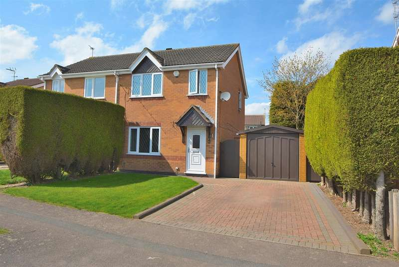3 Bedrooms Semi Detached House for sale in Bosworth Way, Long Eaton