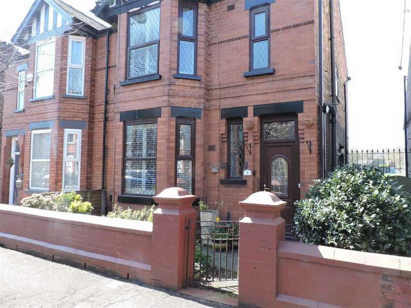 4 Bedrooms Semi Detached House for sale in Woodland Road, Burnage, Manchester