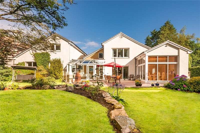 4 Bedrooms Detached House for sale in Bracklinn, Westfield Road, Cupar, Fife, KY15