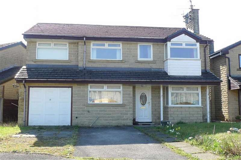 4 Bedrooms Detached House for sale in Horseshoe Avenue, Dove Holes, Derbyshire