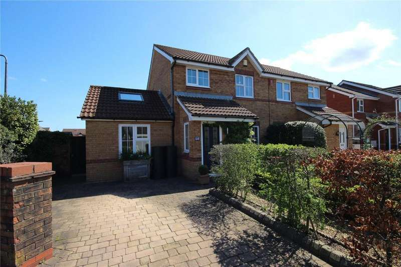 3 Bedrooms Semi Detached House for sale in The Willows, Bradley Stoke, Bristol, BS32