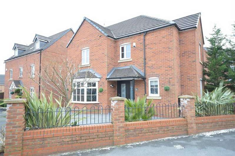 4 Bedrooms Detached House for sale in Gadbury Court, Atherton
