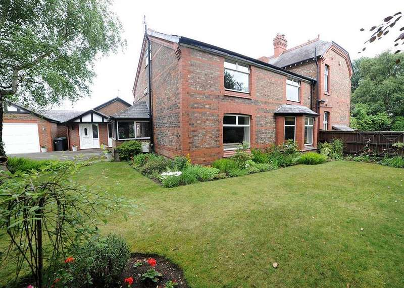 4 Bedrooms Semi Detached House for sale in Elmhurst Farmhouse and The Buttery, Hollins Green, Warrington WA3 6LL