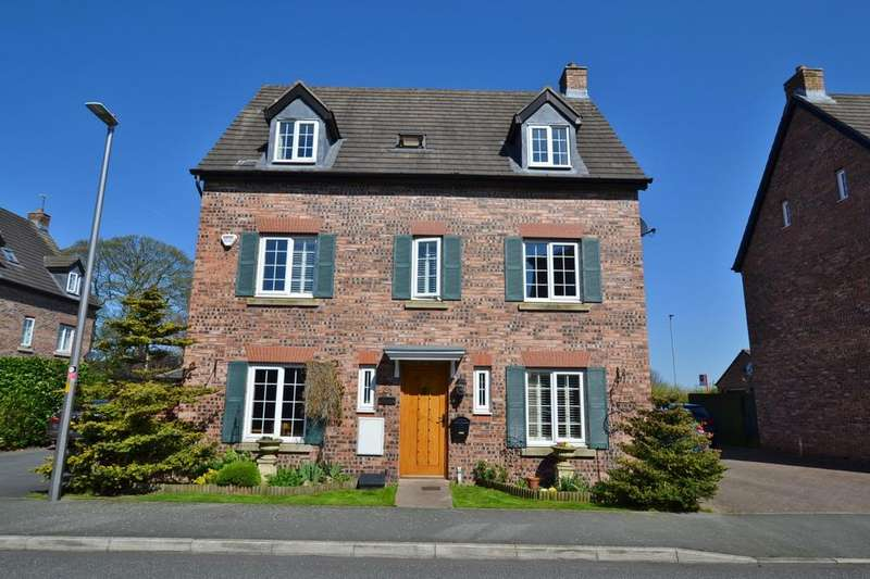 5 Bedrooms Detached House for sale in Pennymoor Drive, Middlewich