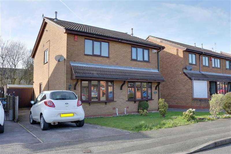 2 Bedrooms Semi Detached House for sale in Deanscroft Way, Meir Hay, Stoke-on-Trent
