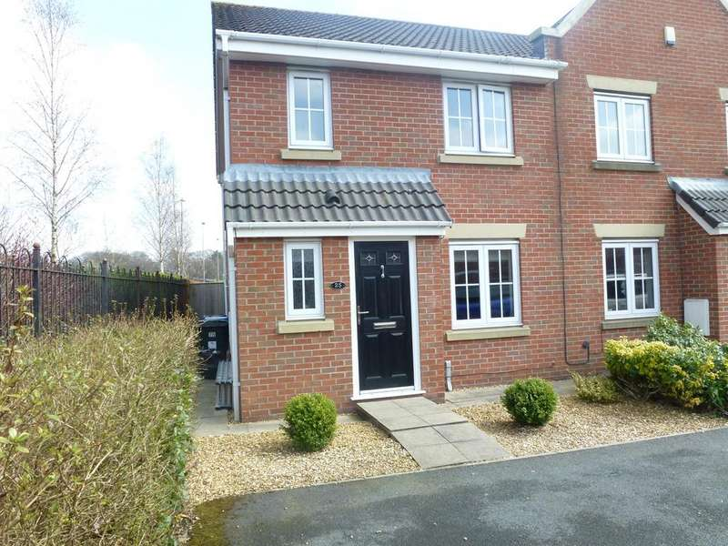 3 Bedrooms Mews House for sale in Mayflower Crescent, Leyland PR7