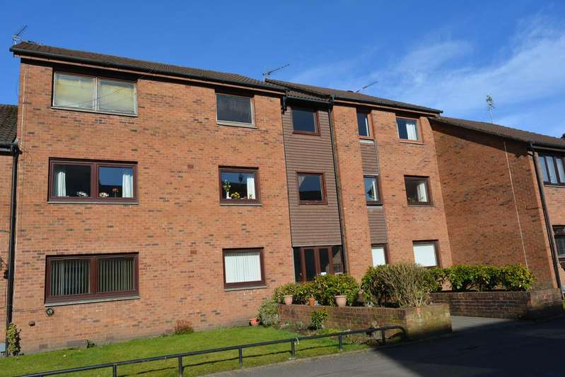 2 Bedrooms Flat for sale in Ground Floor, 1154 Dumbarton Road, Glasgow, G14 9QD