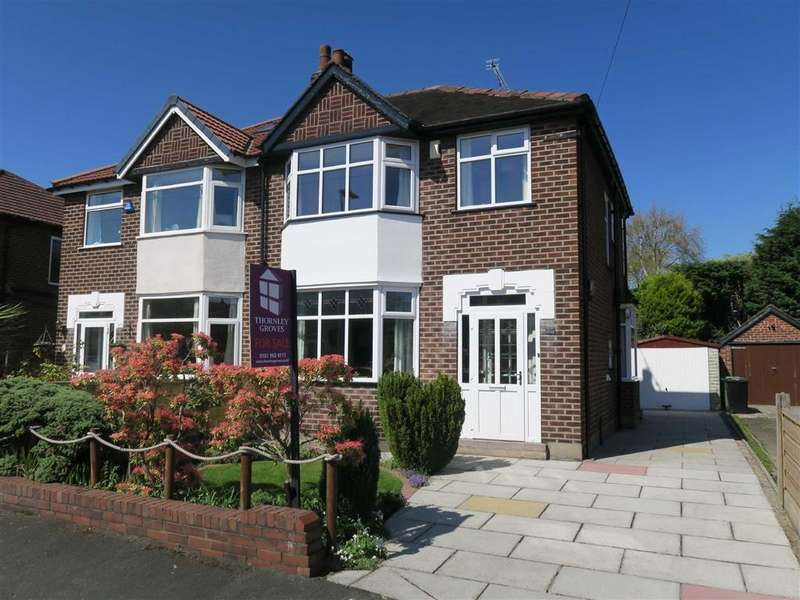 3 Bedrooms Semi Detached House for sale in Wentworth Drive, Sale, M33