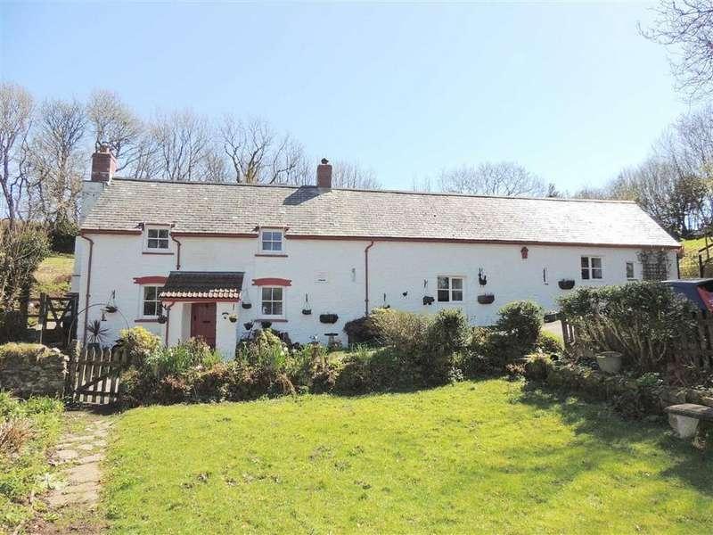 4 Bedrooms Detached House for sale in Martinhoe, Parracombe, Barnstaple, Devon, EX31