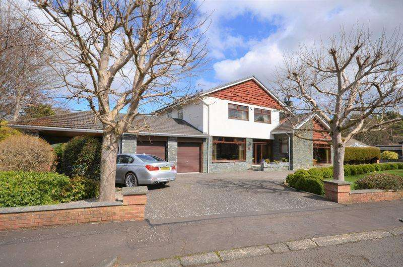 4 Bedrooms Detached Villa House for sale in 1 Balcomie Crescent, Troon KA10 7AR