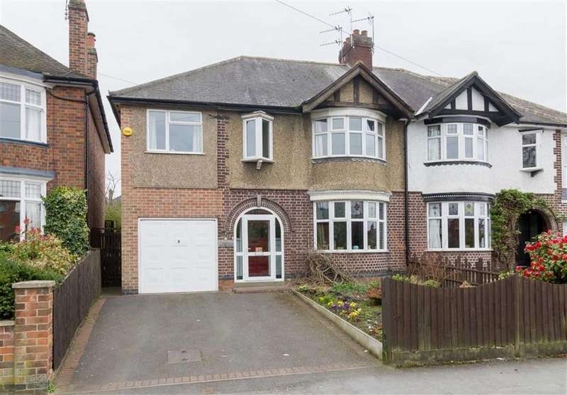 5 Bedrooms Semi Detached House for sale in Forest Road, Loughborough, LE11