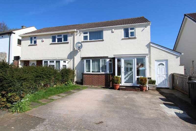 3 Bedrooms Semi Detached House for sale in Raleigh Avenue, Chelston, Torquay