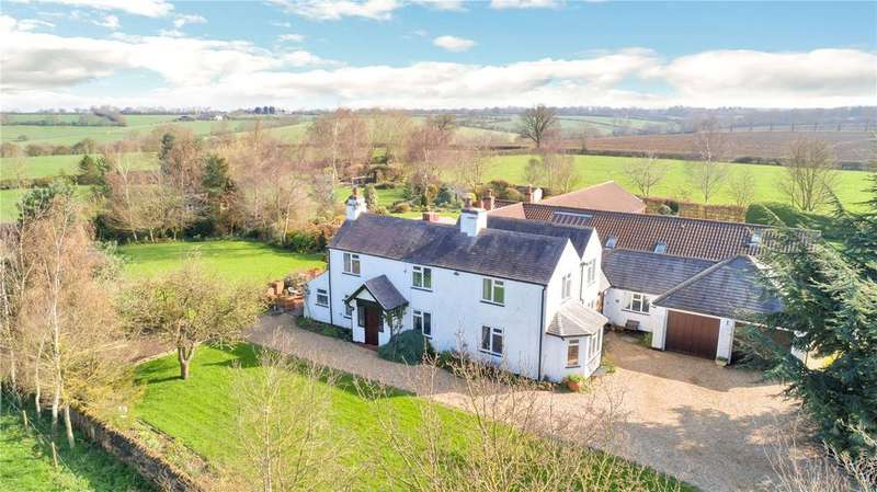 4 Bedrooms Detached House for sale in Six Hills Road, Walton on the Wolds, Loughborough