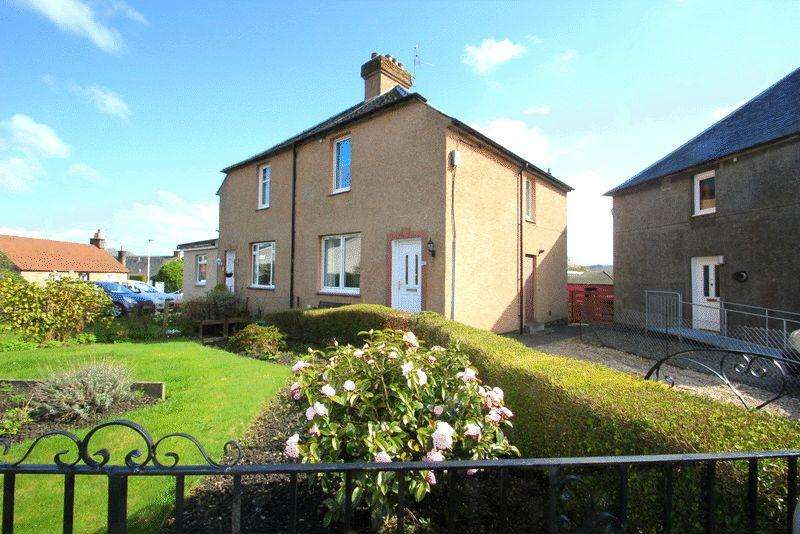 2 Bedrooms Semi Detached House for sale in Sorley's Brae, Dollar