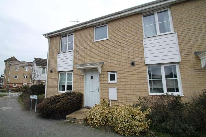 3 Bedrooms Semi Detached House for sale in Hartree Way, Kesgrave, Ipswich, IP5