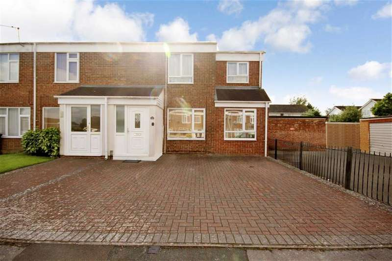 4 Bedrooms End Of Terrace House for sale in Thackeray Close, Liden, Swindon