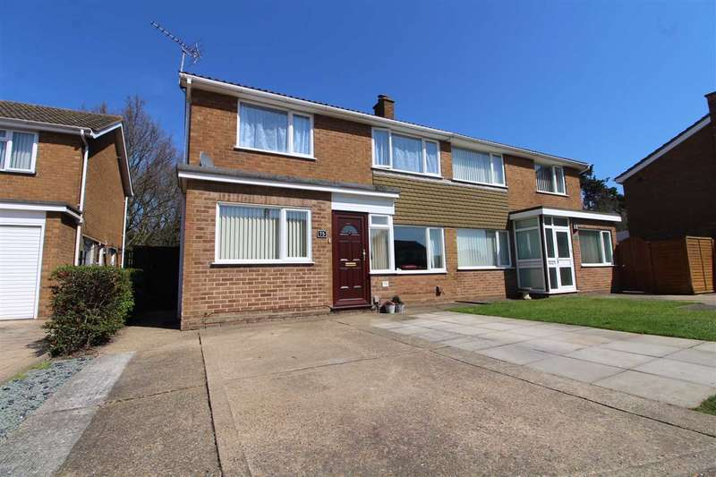 3 Bedrooms Semi Detached House for sale in Ramsgate Drive, Ipswich