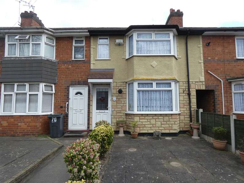 3 Bedrooms Terraced House for sale in Broadyates Road, Yardley, Birmingham