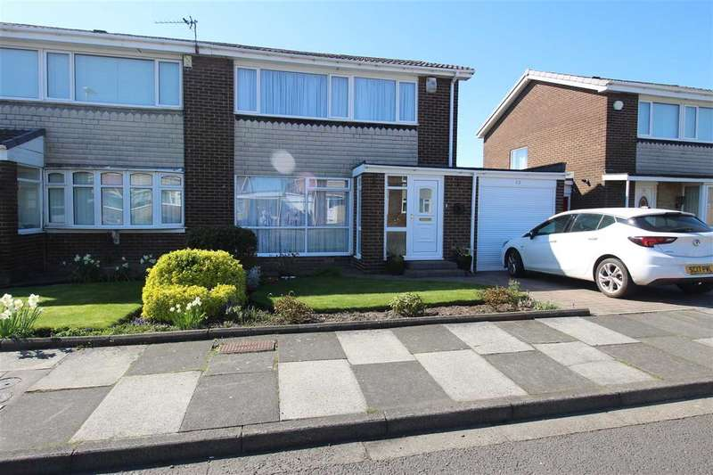 3 Bedrooms Semi Detached House for sale in Cateran Way, Collingwood Grange, Cramlington