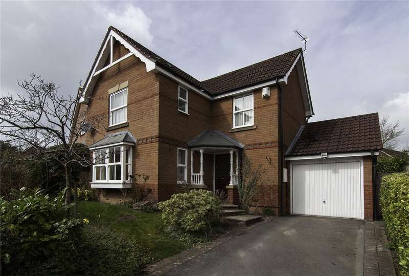 3 Bedrooms Detached House for sale in 6 Shearman Road, Ludlow, Shropshire, SY8