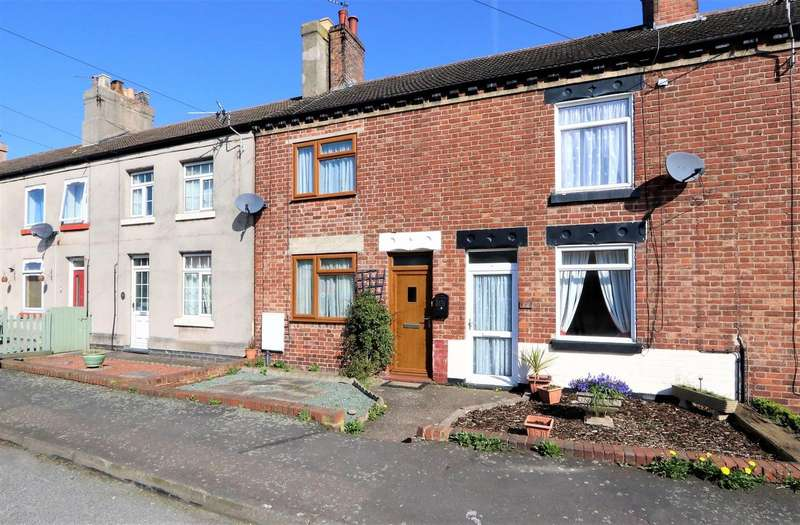 2 Bedrooms Terraced House for sale in New Street, Donisthorpe, DE12 7PG