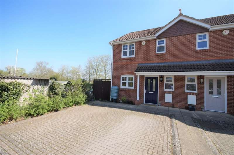 3 Bedrooms End Of Terrace House for sale in Mitford Court, Mitford Close, Three Mile Cross, READING, Berkshire