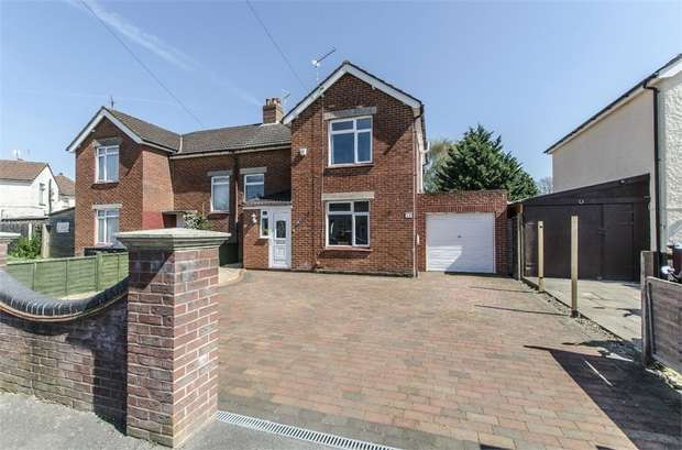 3 Bedrooms Semi Detached House for sale in Scott Road, Eastleigh, Hampshire