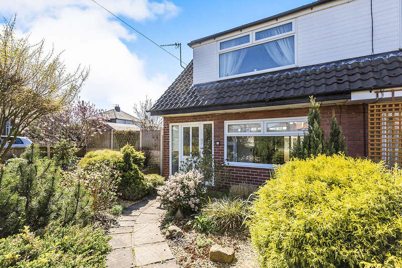2 Bedrooms Semi Detached House for sale in Broadfield Drive, Leyland, PR25