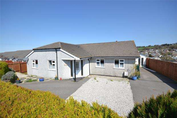 3 Bedrooms Detached Bungalow for sale in Zaggy Lane, Callington, Cornwall