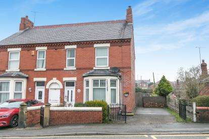 3 Bedrooms Semi Detached House for sale in Wrexham Road, Rhostyllen, Wrexham, Wrecsam, LL14