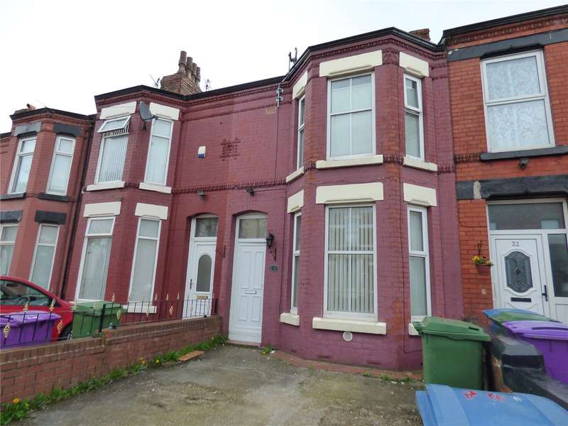 3 Bedrooms Terraced House for sale in Buckingham Road, Tuebrook, Liverpool, Merseyside, L13