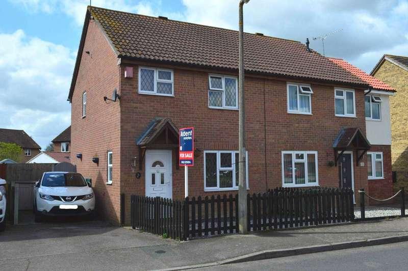 3 Bedrooms Semi Detached House for sale in Lawling Avenue, Heybridge