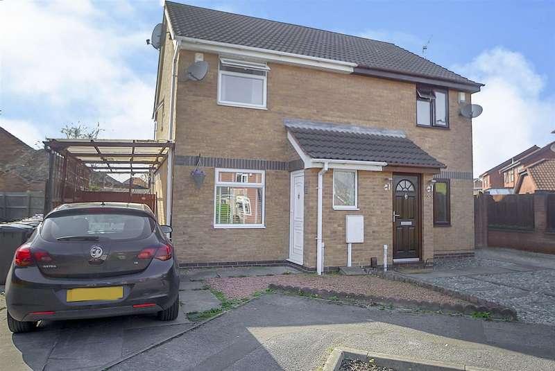 2 Bedrooms Semi Detached House for sale in Darwin Road, Long Eaton