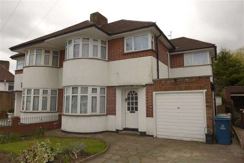 4 Bedrooms Semi Detached House for sale in Beverley Gardens, Stanmore, Middlesex