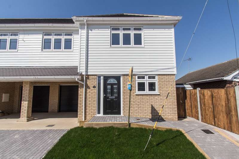 3 Bedrooms Semi Detached House for sale in Roggel Road, CANVEY ISLAND, SS8