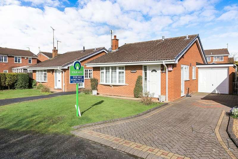 2 Bedrooms Detached Bungalow for sale in Mercia Drive, Perton, Wolverhampton, WV6