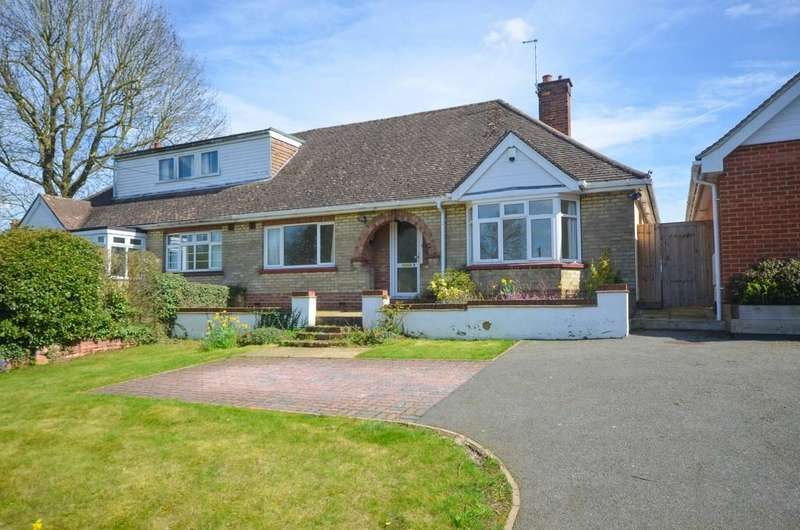 2 Bedrooms Semi Detached Bungalow for sale in Guithavon Valley, Witham, CM8 1HF