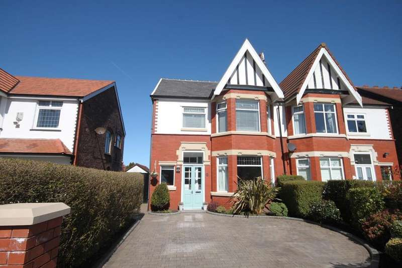 4 Bedrooms Semi Detached House for sale in Norwood Crescent, Southport, PR9 7DU