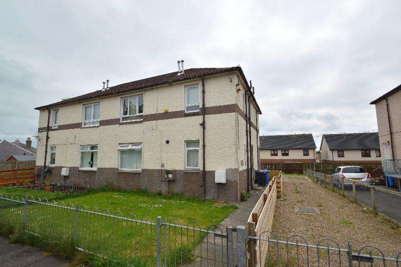2 Bedrooms Flat for sale in Croft Terrace, Springside, North Ayrshire, KA11 3BE