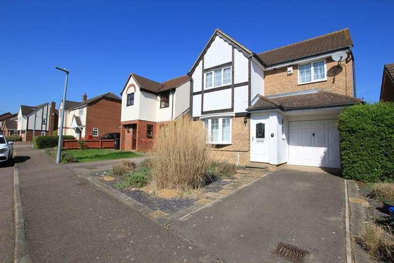 4 Bedrooms Detached House for sale in Hayfield, Stevenage