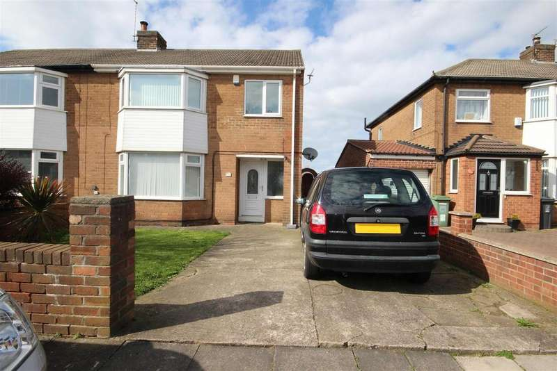 3 Bedrooms Semi Detached House for sale in Staincliffe Road, Seaton Carew, Hartlepool