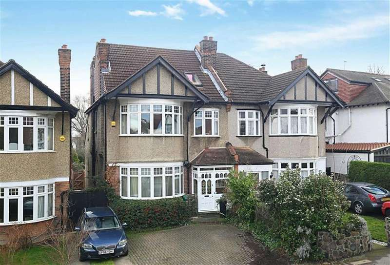 5 Bedrooms Semi Detached House for sale in Kings Avenue, Woodford Green, Essex